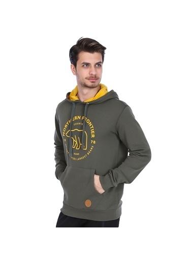 Sportive Sweatshirt Haki